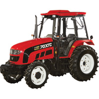 FREE SHIPPING — NorTrac 70XTC 70 HP 4WD Tractor