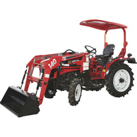 FREE SHIPPING — NorTrac 25XT 25HP 4WD Tractor — With Front End Loader and Ag Tires