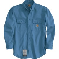 Carhartt Men's Flame-Resistant Twill Shirt with Pocket Flap — Tall Style,  Model# FRS160