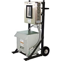 CEP Portable Power Distribution Cart for Generators — 480 Volts, 200 Amps, 3-Phase, Model# 6212PDC30-2