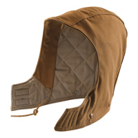 Carhartt Men's Flame-Resistant Quilt-Lined Duck Hood - Brown, Model# FRA265