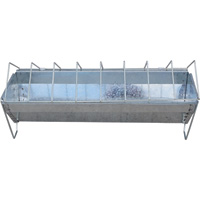 Yard Tuff Metal Trough Feeder — 18in. Size, 6 to 7-Lb. Capacity, Model# YTF-02GCF