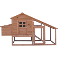Yard Tuff Chicken Coop — Model# YTF-200CC