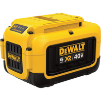 DEWALT 40V Max Lithium Ion Battery Pack — 6.0Ah, Model# DCB406