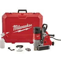 FREE SHIPPING — Milwaukee Permanent Magnetic Drill — 1 5/8in., Model# 4274-21