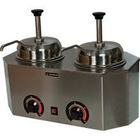 Paragon Pro Deluxe Dual Warmers with Pumps, Model# 2929A
