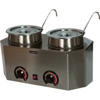 Paragon Pro Deluxe Dual Warmers with Ladles, Model# 2929A