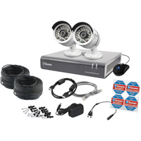 Swann Communications DVR Surveillance System — 4 Channels, 2 Cameras, 1TB Hard Drive, Model# SWDVK-446002