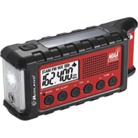 Midland Emergency Crank AM/FM/Weather Alert Radio, Model# ER310