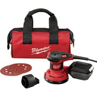 FREE SHIPPING — Milwaukee 5in. Random Orbit Palm Sander. Model# 6034-21