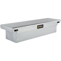 Northern Tool + Equipment Shotgun Style Crossover Low Profile Silver Truck Tool Box — Aluminum, 69in.