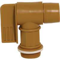 Wesco Polyethylene Drum Faucet — 2in. NPT Connection