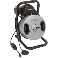 Klutch 100ft. Electric Drain Cleaner