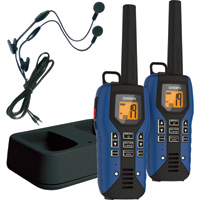 Uniden 2-Way GMRS Radios — Pair, 50-Mile Range, Submersible, Model# GMR5095-2CKHS