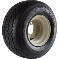 FREE SHIPPING — Kenda Golf Cart Hole-N-1 Wheel and Tire Assembly — 18 x 8.50-8, Sawtooth Bias Ply, Fits Yamaha Carts