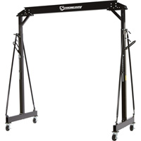 Strongway Height Adjustable Gantry Crane — 3000-Lb. Capacity