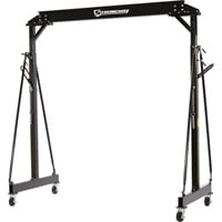 Strongway Adjustable Height Gantry Crane — 4400-Lb. Capacity