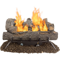 Pleasant Hearth Southern Oak Vent-Free Gas Log Set — 30,000 BTU, 24in., Model# VFL-SO24DT