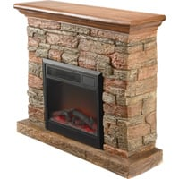 ProFusion Heat Polystone Fireplace with Mantel — 4400 BTU, Model# WF01514
