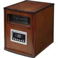 ProFusion Heat 8-Tube Quartz Infrared Heater — 5100 BTU, Burnished Chestnut, Model# GD9315BCW-8J1 (DS1007)