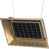 TPI Overhead Flat Panel Electric Infrared Heater — 4300 Watt, 14,672 BTU, Model# FSS-4324-3