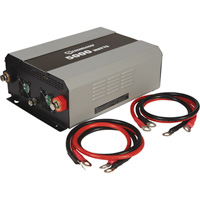 FREE SHIPPING — Strongway Modified-Sine Wave Portable Power Inverter with Cables — 5000 Watts, 4 Outlets/1 USB Port