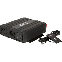 Strongway Pure Sine Wave Power Inverter — 2000 Continuous Watts, Includes Cables and Remote Control