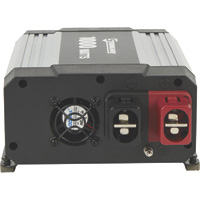 Strongway Modified-Sine Wave Portable Power Inverter with Cables — 1000 Watts, 2 Outlets/1 USB Port