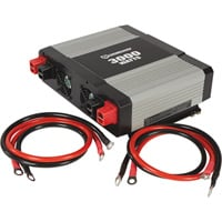 Strongway Modified-Sine Wave Portable Power Inverter with Cables — 3000 Watts, 3 Outlets/1 USB Port