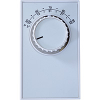 TPI Single Line Voltage Wall-Mount Thermostat — Model# ET5SS