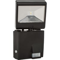 Maxsa Solar-Powered Motion-Activated LED Security Spotlight — 685 Lumens, Black, Model# 44311
