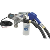 FREE SHIPPING — GPI 12V Fuel Transfer Pump — 18 GPM, Filter, Automatic Nozzle, Hose, Model# M-180S-AU/Filter
