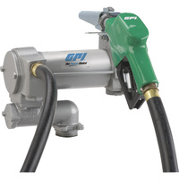 FREE SHIPPING — GPI 12V Fuel Transfer Pump — 25 GPM, Automatic Nozzle, Hose,  Model# ML-3025CB-AD