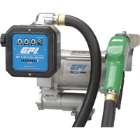 FREE SHIPPING — GPI 115V Fuel Transfer Pump — 20 GPM, Meter, Automatic Nozzle, Hose, Model# M-3120-AD/MR 5-30-G8N
