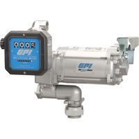 FREE SHIPPING — GPI 115V Fuel Transfer Pump — 30 GPM, Meter, Model# M-3130-PO/MR 5-30-G8N