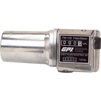 FREE SHIPPING — GPI Mechanical Fuel Meter with Filter — 3/4in. Inlet/Outlet, 4 to 20 GPM, Model# FM100-G6N