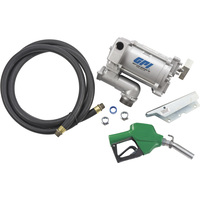 FREE SHIPPING — GPI 115V Fuel Transfer Pump — 20 GPM, Automatic Nozzle, Hose, Model# M-3120-AL