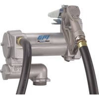 FREE SHIPPING — GPI 12V Fuel Transfer Pump — 25 GPM, Manual Nozzle, Hose, Model# ML-3025CB-ML
