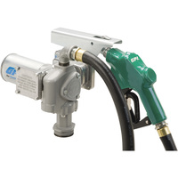 FREE SHIPPING — GPI 12V Fuel Transfer Pump — 20 GPM, Automatic Nozzle, Hose, Model# M-3020-AD