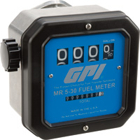 FREE SHIPPING — GPI Mechanical Fuel Meter — 3/4in. Inlet/Outlet, 5 to 30 GPM, Model# MR 5-30-G6N