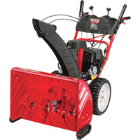FREE SHIPPING — Troy-Bilt 2-Stage Electric Start Snow Blower with Airless Tires — 28in., 243cc Engine, Model# 31AM59P4766