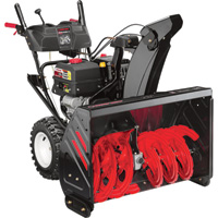 FREE SHIPPING — Troy-Bilt 34in. Arctic Storm XP 2-Stage Electric Start Snow Blower — 420cc Engine, Model# 31AH8ER6766