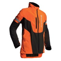 Husqvarna Hi-Vis Tech Jacket — XL, Hi-Vis Safety Orange