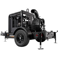 Generac Diesel Wet Prime Mobile Full Trash Pump — 1680 GPM, 6in. Ports, Tier 4 Final Approved, Model# 6961