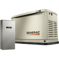FREE SHIPPING — Generac Guardian Series Air-Cooled Home Standby Generator — 22 kW (LP)/19.5 kW (NG), 200 Amp Transfer Switch, Model# 7043