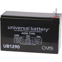 UPG Sealed Lead Acid Battery — AGM-type, 12V, 10 Amps
