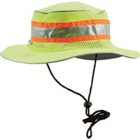 Berne High Visibility Non-Rated Safety Bucket Hat — Lime, One Size Fits Most, Model# HVA157YW