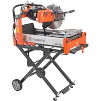 FREE SHIPPING — Husqvarna MS 360 Dual Voltage Masonry Saw — 115/208-230 Volt, 1.5 HP, 2500 RPM, Model# MS 360