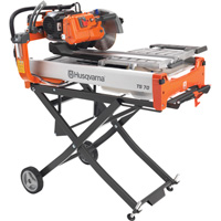 FREE SHIPPING — Husqvarna TS 90 Dual Voltage Tile Saw — 115/230 Volt, 2 HP, 2500 RPM, Model# TS 90 2HP Dual Voltage