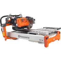 FREE SHIPPING — Husqvarna TS 70 Tile Saw — 115 Volt, 1.5 HP, 2500 RPM, Model# TS 70